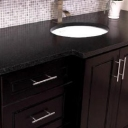 coffee maple glazed vanity 2